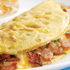 BACON & CHEESE*  OMELETTE