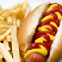 KID'S HOT DOG WITH FRIES